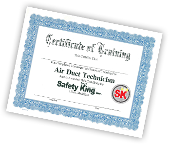 air duct cleaning training