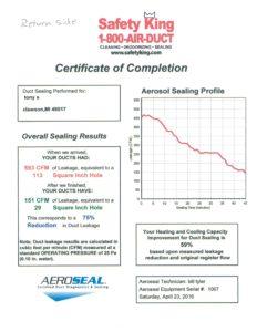 Aeroseal May 11 2