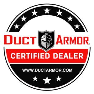 Duct Armor Certified Dealer Badge