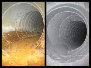 Before and After Duct Armor